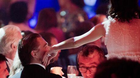 PHOTOS Dîner de l'amfAR: Marion Cotillard et Leonardo DiCaprio heureux de se retrouver