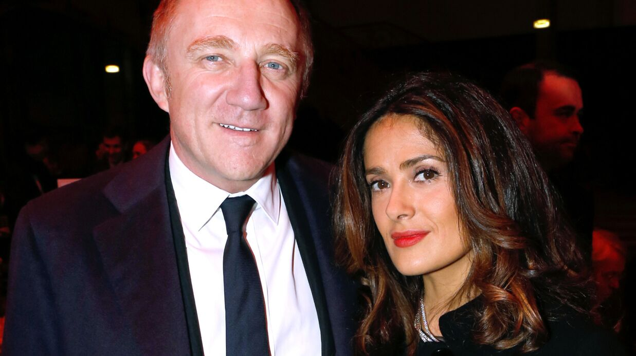 Salma Hayek raconte sa relation fusionnelle avec François-Henri Pinault