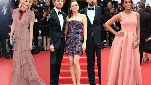 DIAPO Cannes 2015: Marion Cotillard sexy en robe bustier et une ex-Miss France se distingue
