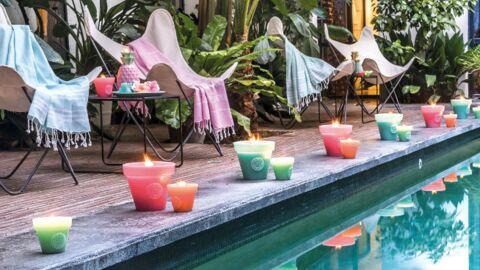 Ambiance tropicale avec Bougies La Française