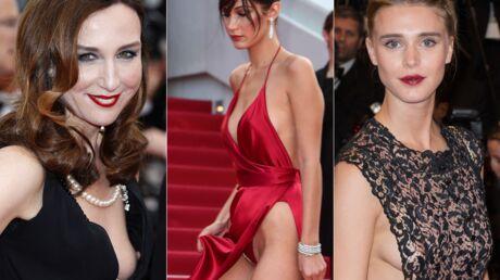 PHOTOS Cannes 2016: Les seins d'Elsa Zylberstein et Gaïa Weiss, la culotte de Bella Hadid… le best-of sexy