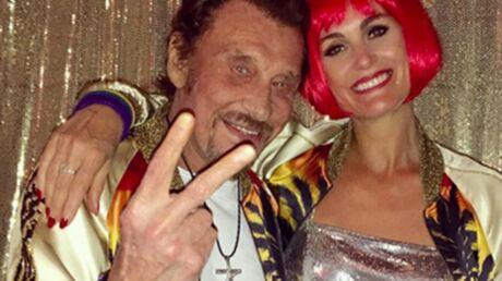 PHOTOS Johnny et Laeticia Hallyday s'éclatent lors d'une soirée déguisée RollerDisco
