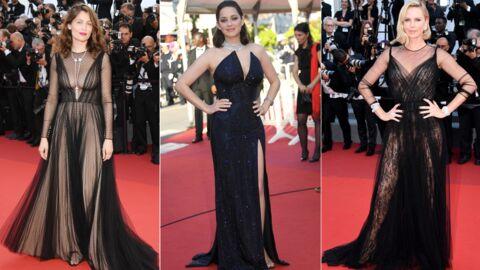 PHOTOS Cannes 2017: Laetitia Casta et Marion Cotillard sublimes en décolleté, Charlize Theron joue la transparence