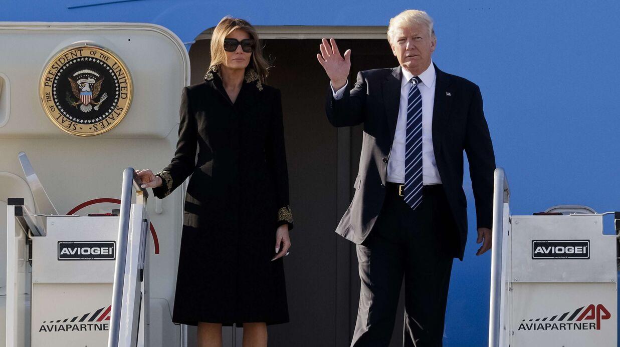 Melania Trump: elle met ENCORE un gros vent à Donald Trump qui lui tend la main