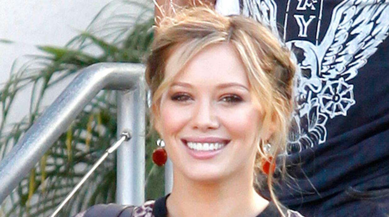 Hilary Duff maman pour la première fois