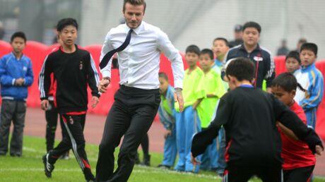 David Beckham: démonstration ratée en Chine