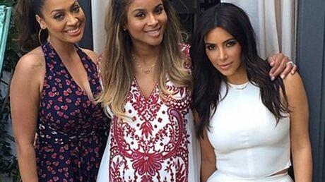 DIAPO Une Baby Shower en famille et entre copines stars pour Ciara
