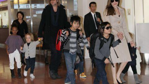 Angelina Jolie: six nounous à temps plein, le quotidien un peu flippant de ses enfants