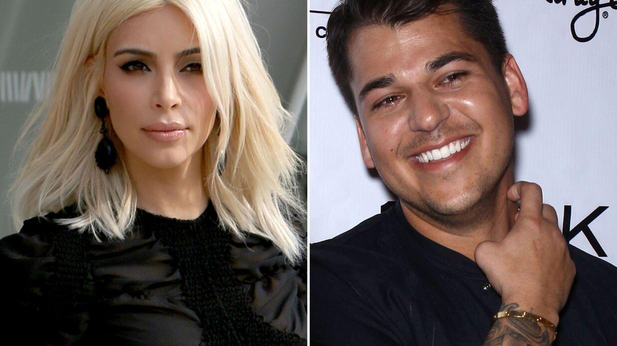 Rob Kardashian insulte sa sœur Kim sur Instagram