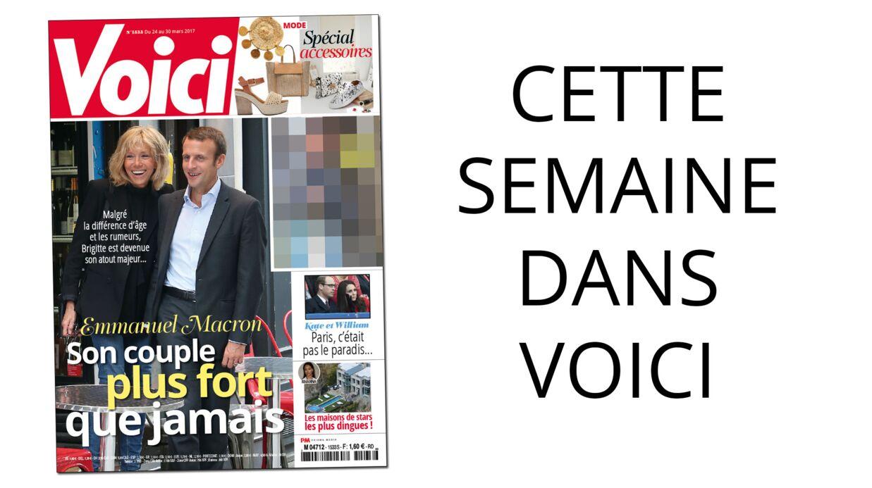 Cette semaine dans Voici: Emmanuel et Brigitte Macron plus forts ensemble