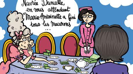 Louison a croqué: la disparition de Danielle Mitterrand
