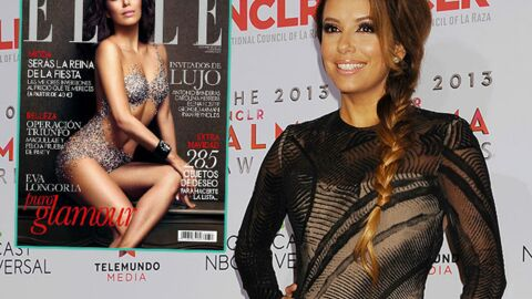 PHOTO Eva Longoria pose nue en couverture du Elle espagnol