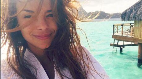 PHOTO Marine Lorphelin: son selfie sans maquillage à Bora-Bora