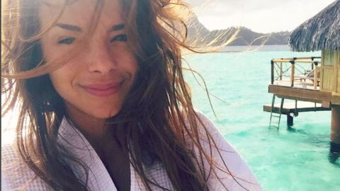 PHOTO Marine Lorphelin : son selfie sans maquillage à Bora-Bora