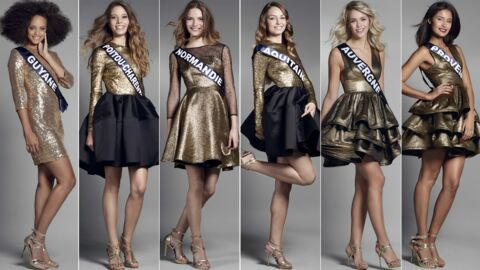 DIAPO Miss France 2017: découvrez les 30 prétendantes au titre