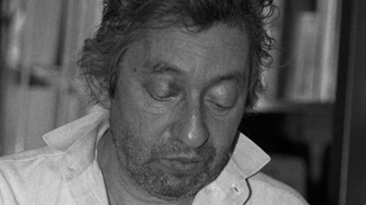 Un manuscrit de Serge Gainsbourg vendu aux enchères