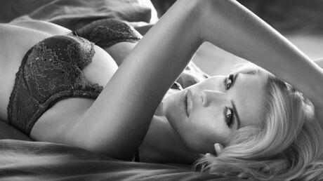 DIAPO Victoria Silvstedt très sexy pour un shooting en lingerie
