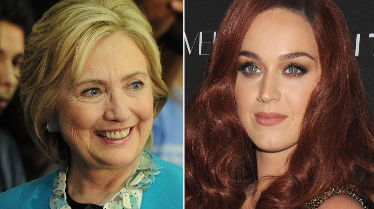 Katy Perry va passer son anniversaire avec Hillary Clinton