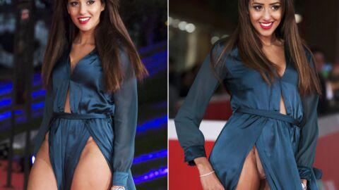 PHOTOS Gros accident de robe pour Zaina Dridi: elle se retrouve culotte à l'air