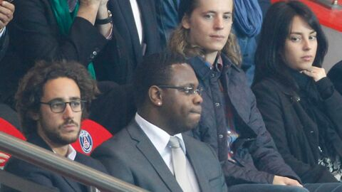 DIAPO La famille Sarkozy et Thomas Hollande, supporters de choc du PSG