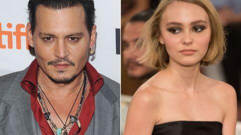 Johnny Depp effrayé de voir sa fille Lily-Rose grandir aussi vite