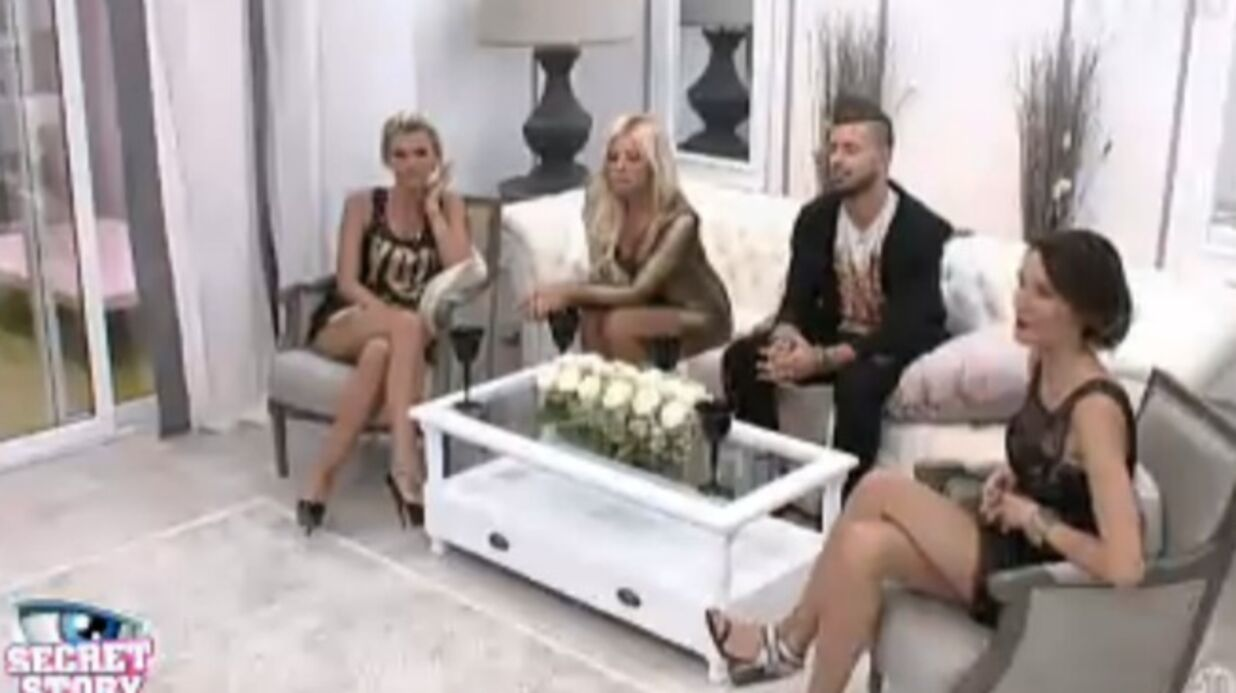 Secret Story 7: Vincent enfermé avec Amélie, Stéphanie et Marie