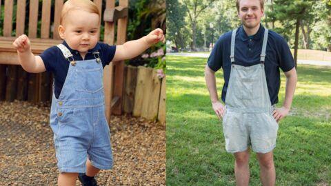 VIDEO Un homme de 23 ans décide de s'habiller comme baby George pendant une semaine