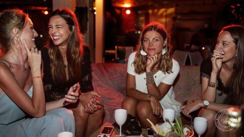 PHOTOS Marine Lorphelin et des blogueuses mode s'éclatent avec La Folie Douce à Cannes