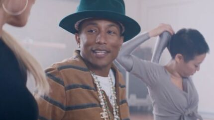VIDEO Pharrell Williams : Marilyn Monroe, son nouveau clip réjouissant et coloré