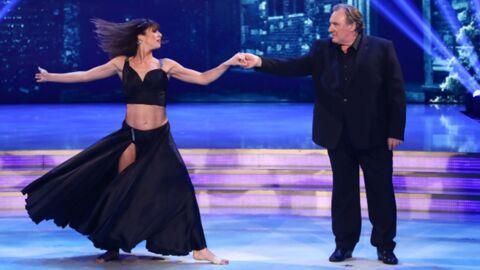 PHOTOS Gérard Depardieu invité spécial du Danse avec les stars italien, il a assuré