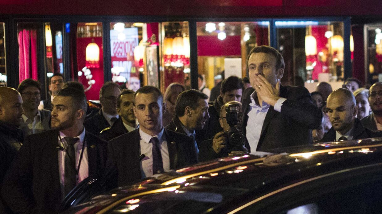 PHOTOS Emmanuel Macron: les people qui ont fêté avec lui sa victoire au premier tour