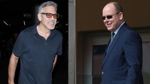 George Clooney futur papa de jumeaux: le prince Albert de Monaco lui a donné quelques conseils