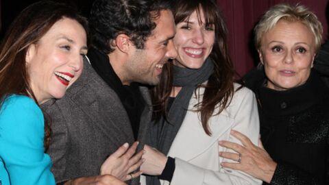 PHOTOS Nicolas Bedos entouré de Dora Tillier et Elsa Zylberstein pour la dernière de son père