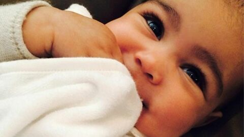 PHOTOS Kim Kardashian: sa fille North déjà pourrie gâtée pour son 1er Noël