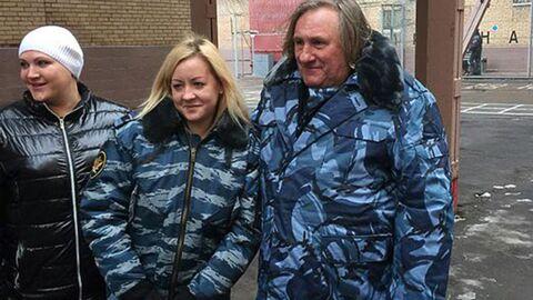 PHOTO Gérard Depardieu dans une prison russe