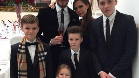Victoria Beckham publie une photo de sa famille version Mignons de Moi, moche et méchant