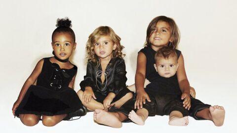 Presque tous les enfants des sœurs Kardashian rassemblés sur leur carte de Noël