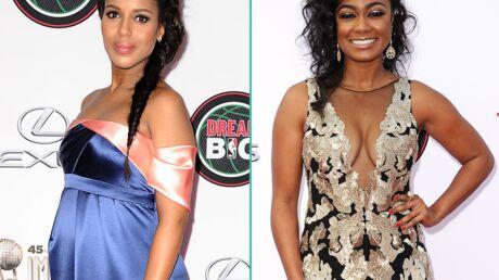 PHOTOS Kerry Washington très enceinte et Tatyana Ali décolletée pour les NAACP Image Awards