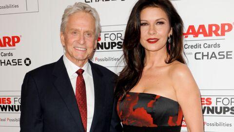 Michael Douglas: toujours fou de Catherine Zeta-Jones après 16 ans de mariage, il lui fait une belle déclaration