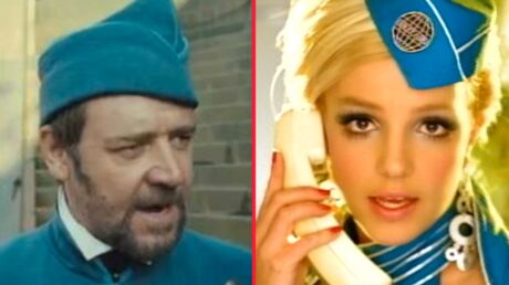 PHOTO Britney Spears se moque de Russell Crowe