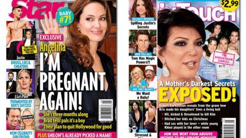 En direct des US: Angelina Jolie est à nouveau enceinte! (LOL)