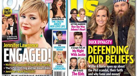 En direct des US: Johnny Depp et Jennifer Lawrence sont fiancés (mais pas ensemble)