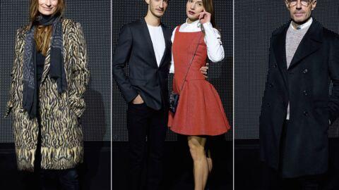 DIAPO Pierre Niney, Lambert Wilson… La french touch à l'honneur au défilé Dior Homme!