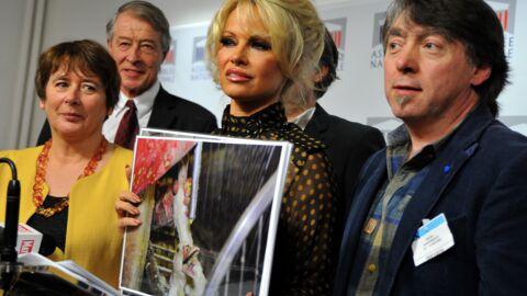 VIDEO Pamela Anderson: son coup de gueule contre les députés français