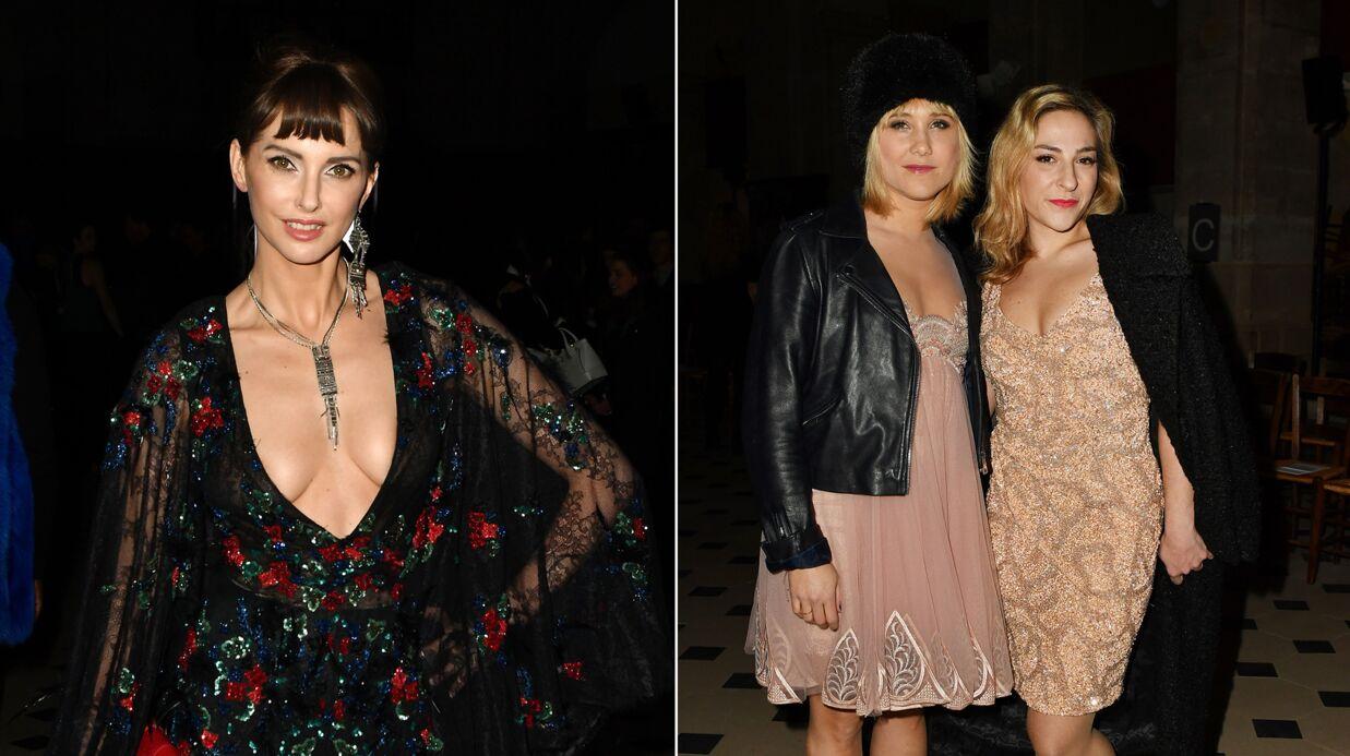 PHOTOS Fashion Week: Frédérique Bel ultra décolletée, Bérengère Krief et Marilou Berry élégantes