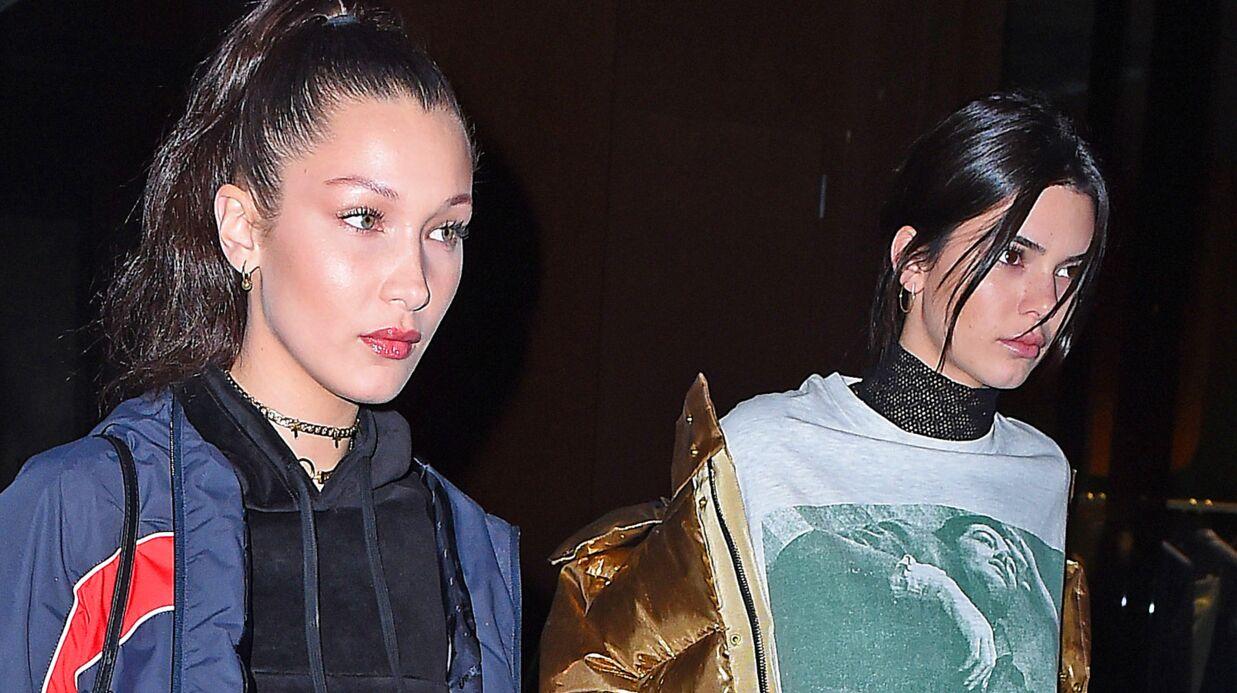 Kendall Jenner et Bella Hadid: fin de soirée torride à Paris