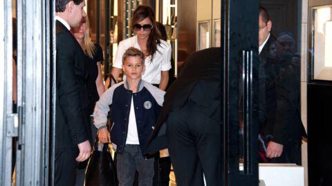 PHOTOS Victoria Beckham à Paris avec son fils Romeo