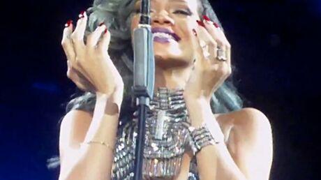 VIDEO Rihanna fond en larmes lors d'un concert à Lille