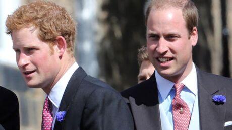 DIAPO William et Harry tombent sur NEUF ex-petites copines à un mariage