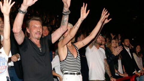 DIAPO Johnny, Laeticia et M Pokora déchaînés au concert de Patrick Bruel!